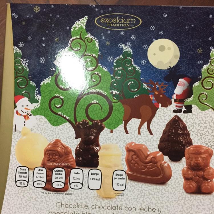 Walmart: Chocolates exquisitos!! Excelcium $5.03