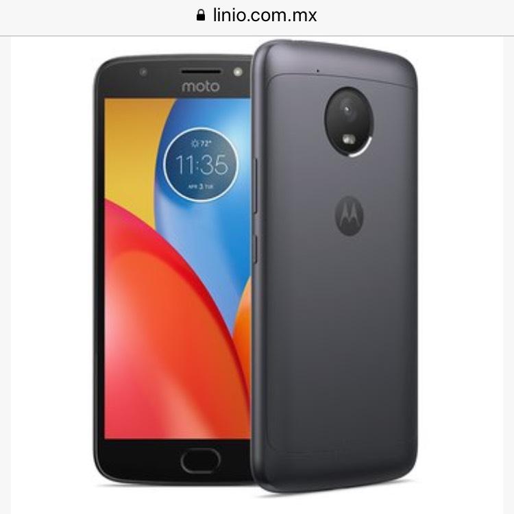 Linio: Motorola Moto E4 con 53% descuento (garantía de 90 días)