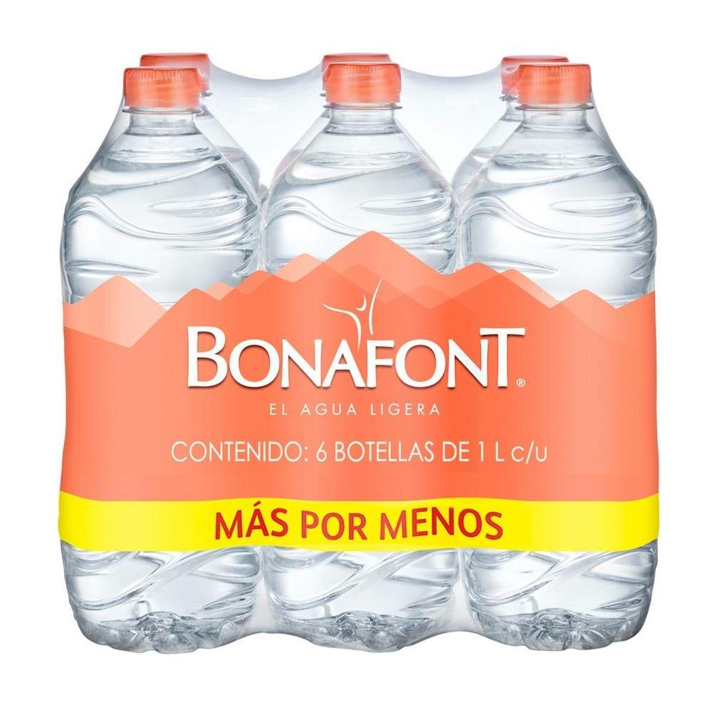 Bodega Aurrera: Bonafont litro a buen precio