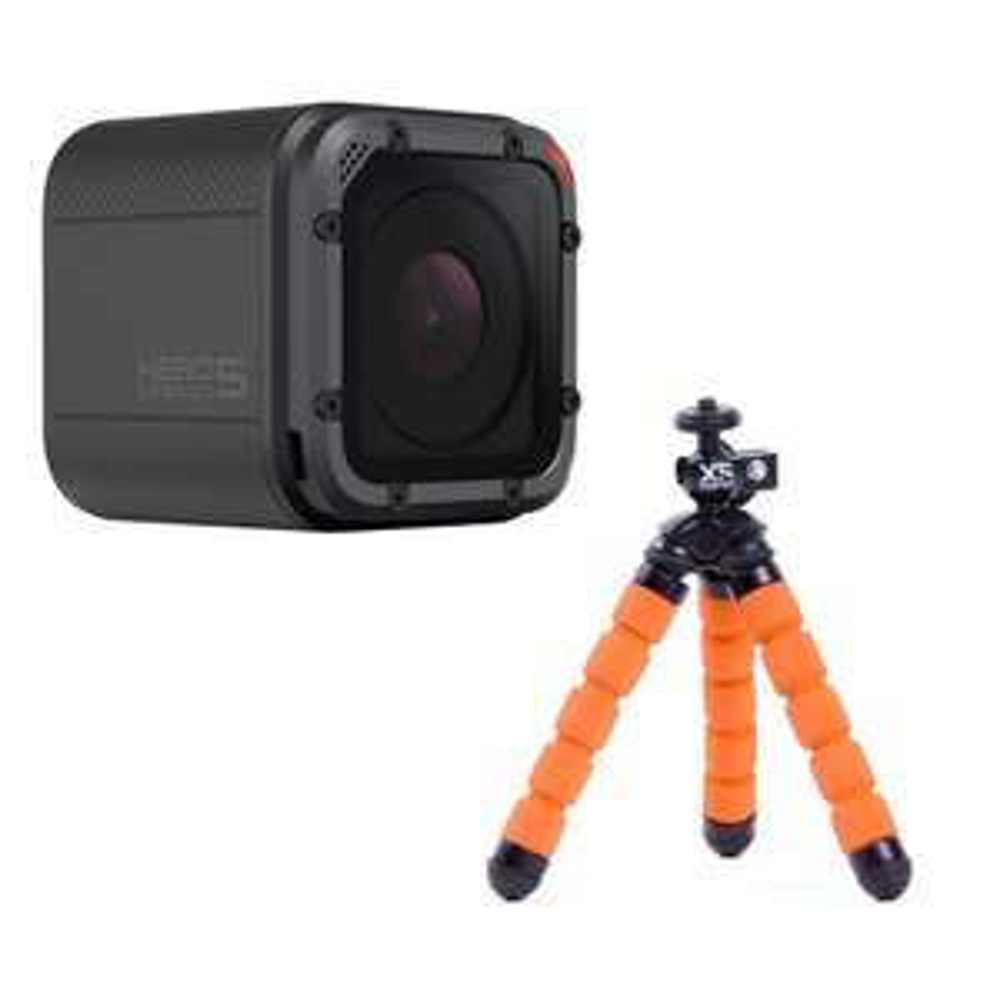 Walmart en línea: GoPro Hero 5 Session + Foto Trip Mini Bendy Naranja