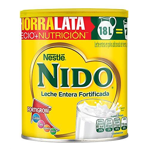 Amazon: Leche Nido Lata de 2.2 Kg (agregando 4 latas minimo con Prime $146 por lata)