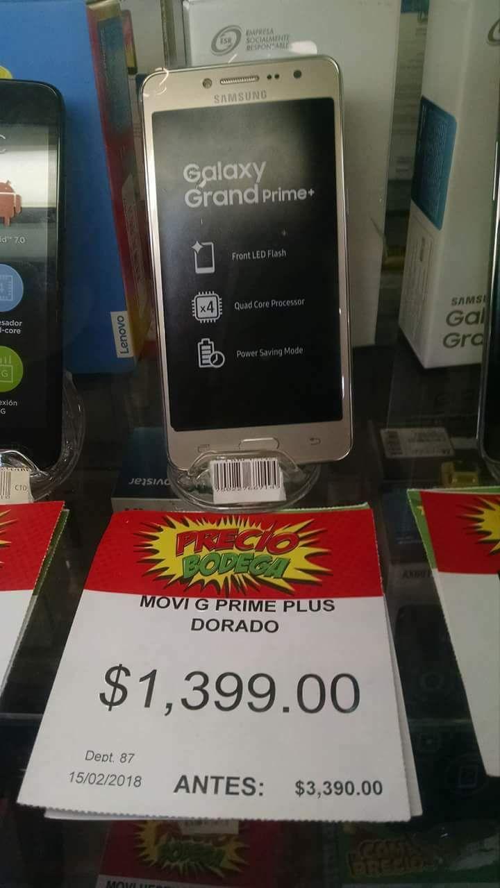 Bodega Aurrerá:  Samsung Galaxy Prime+