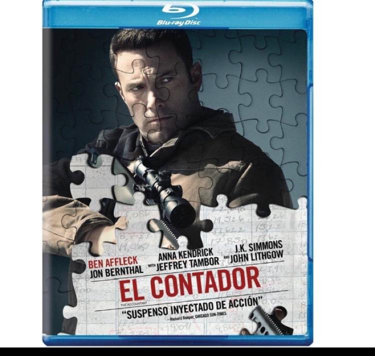 Amazon MX: El Contador [Blu-ray]