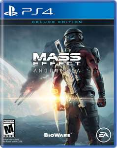 Amazon: Mass Effect Andromeda Deluxe Edition ($294), Uncharted Collection ($299), Mortal Kombat XL ($399) para PS4