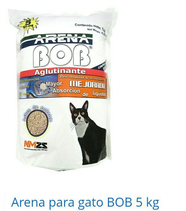 Walmart cumbres mty: Arena para gato, $29