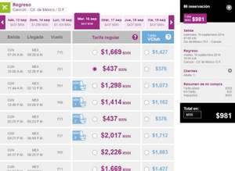Volaris: vuelos redondos GDL-Tijuana $1,048, DF- Cancún $981 y más ofertas en vuelos nacionales