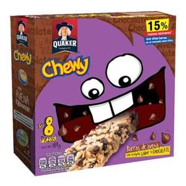 Bodega Aurrerá: barras de cereal chewy y chocokrispies