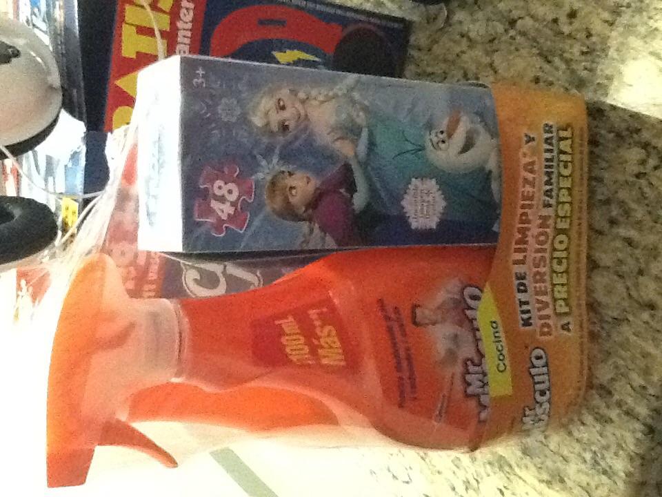 Walmart: Rompecabezas de regalo en la compra de productos Mr. Músculo