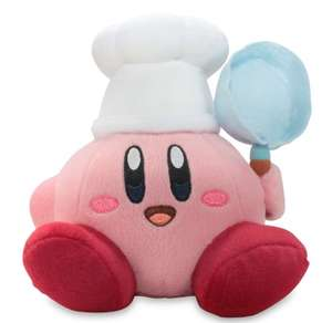 "Amazon: Little Buddy Official Kirby Adventure Cook Kirby 7"" Plush Doll"