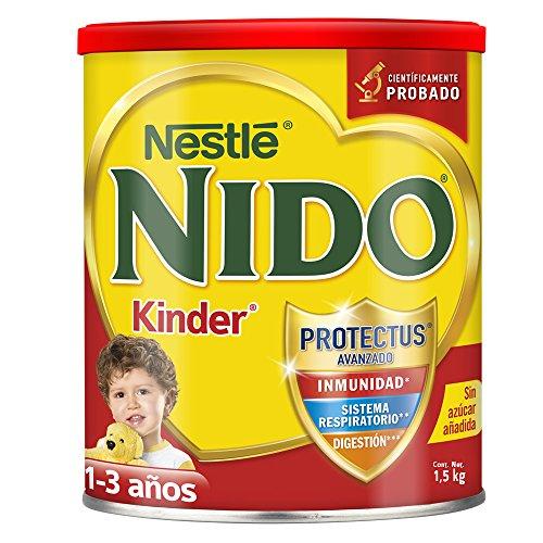 Amazon: leche Nido Kinder 1.5Kg (comprando 4 con Prime)
