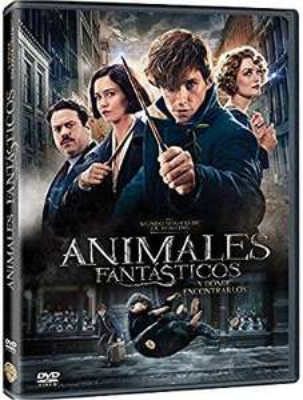 Amazon: DVD Animales Fantasticos y Donde Encontrarlos