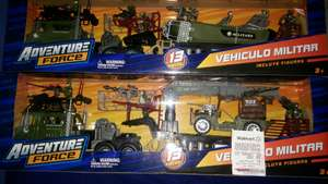 Walmart: Vehículo militar adventure force