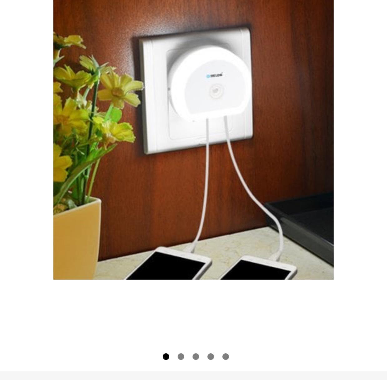 Gearbest: lámpara de noche con sensor de proximidad