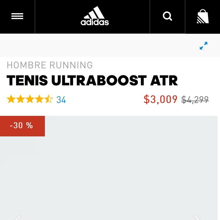Adidas.com Tenis ultraboost Atr