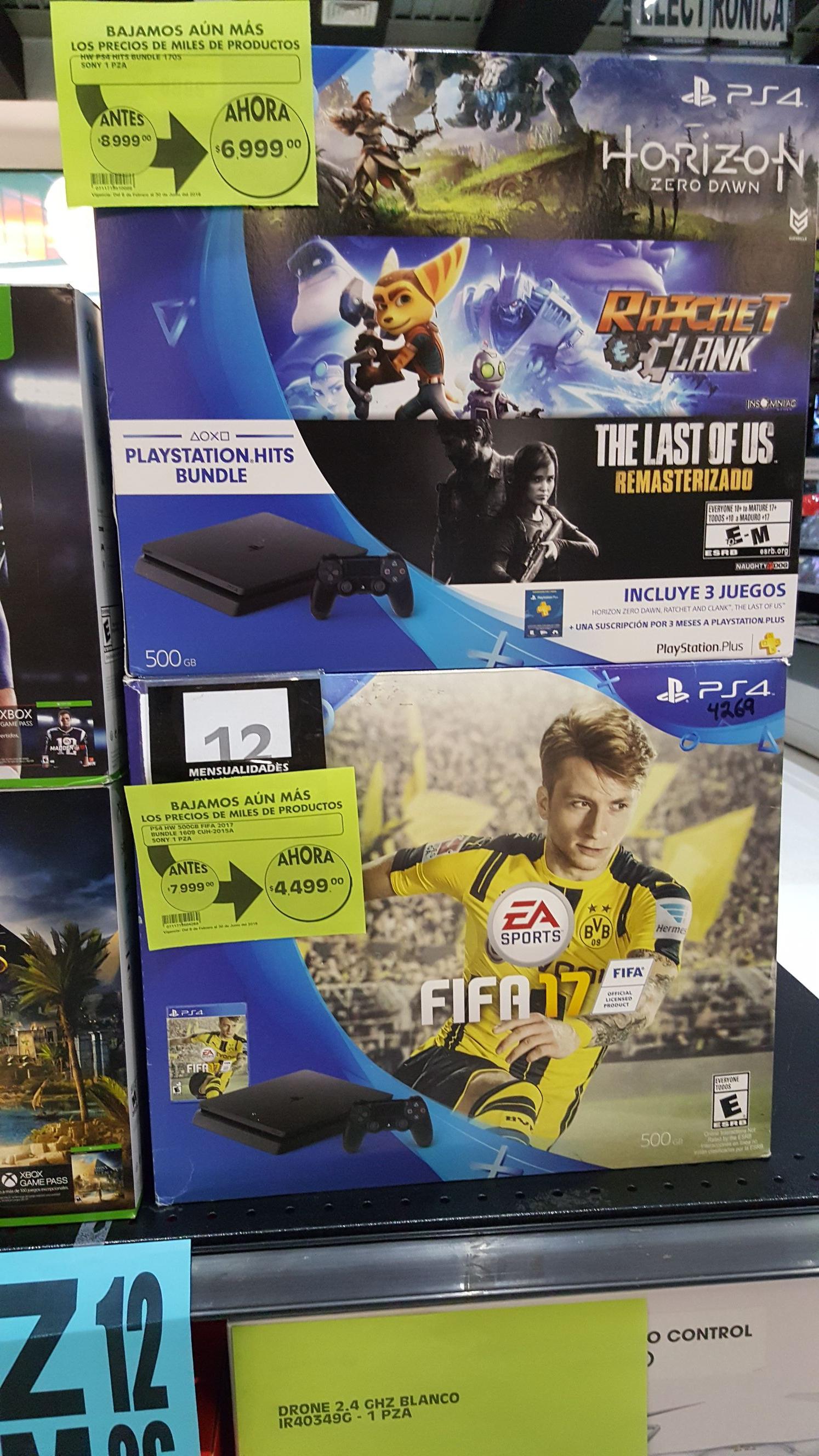La Comer Uruapan: Consola PS4 Fifa 17 en oferta