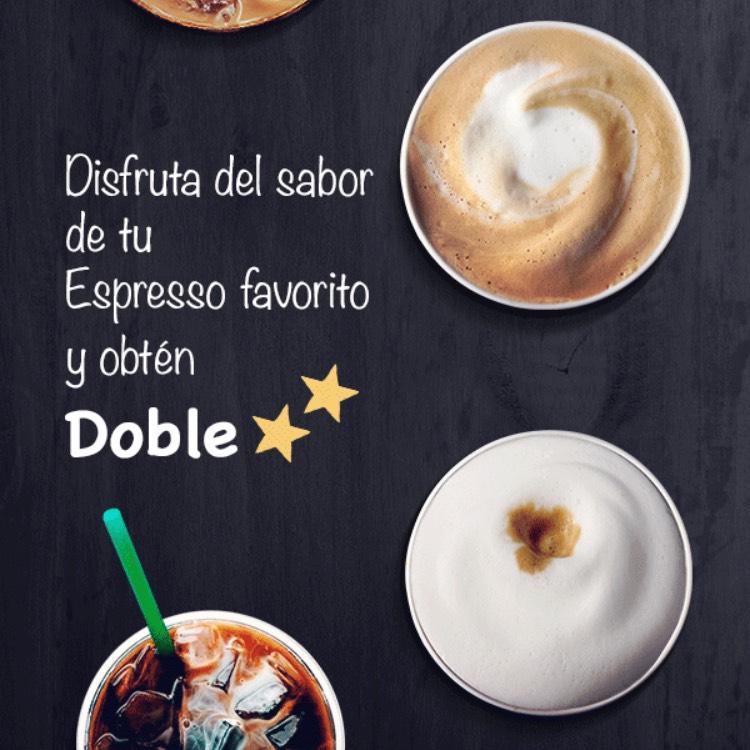 Starbucks: dobles estrellas.