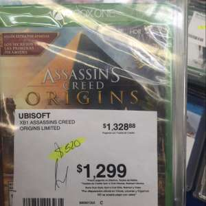 Sam's Club: Assassin's creed origins Xbox one