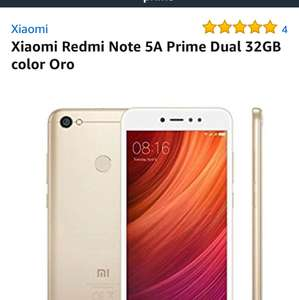 Amazon: redmi noté 5a prime venta flash