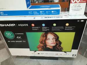 "Sanborns: Smart Tv Sharp Aquos 55"" 4K UHD"