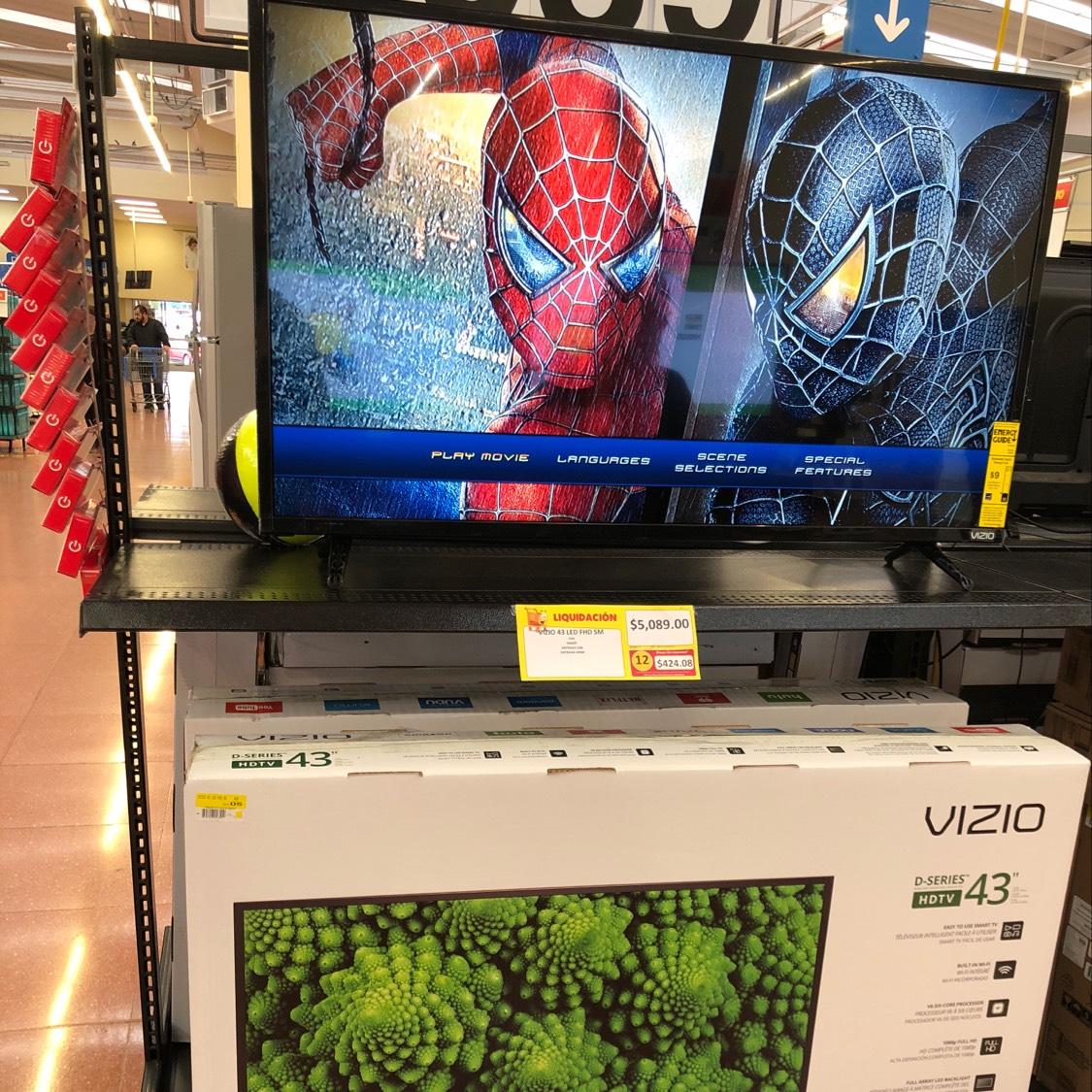Walmart: Pantalla Vizio Smart TV 43''