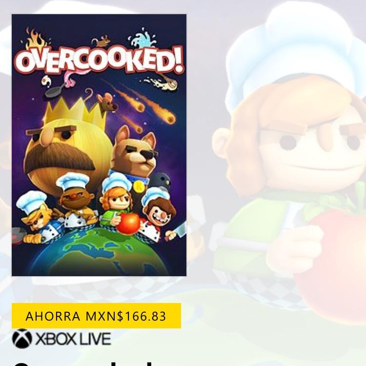Microsoft Store: Overcooked Edición Base para Xbox One