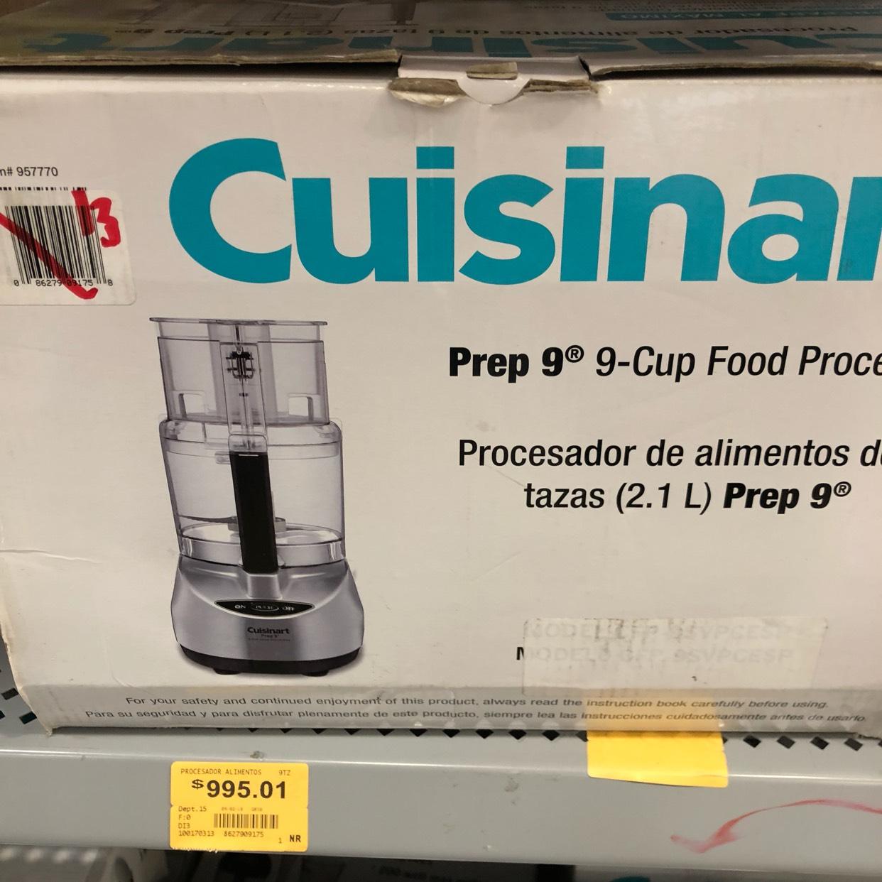 Superama: Procesador y Máquina de palomitas cuisinart última liquidación