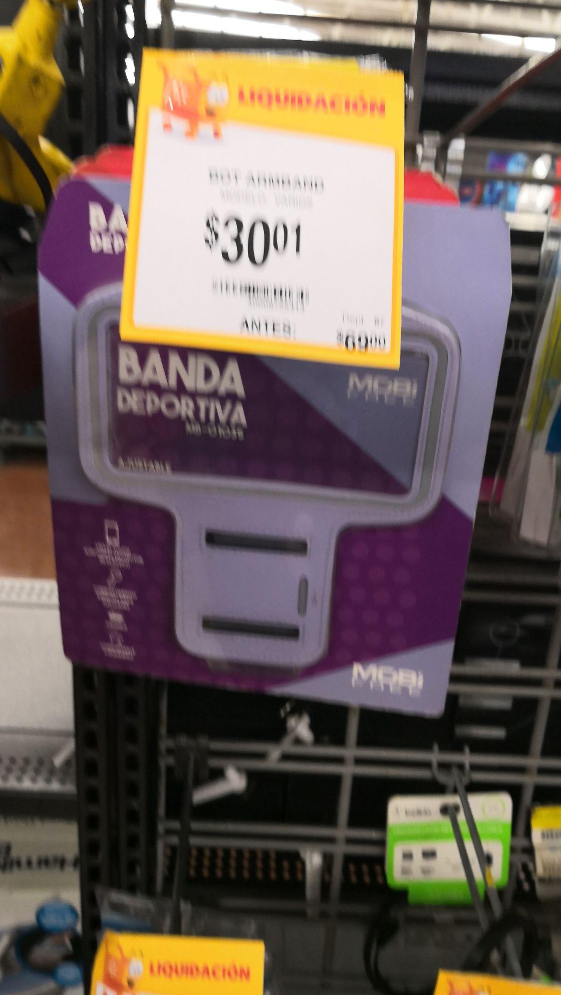 Walmart: Banda porta celular a $30.01