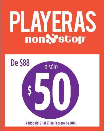 Suburbia: playeras a $50 y bonificación comprando jeans