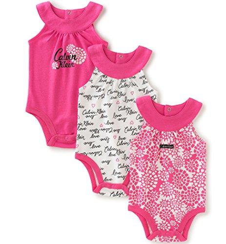 Amazon: Leotardos Calvin Klein elegantes para bebe (niña) talla 3/6