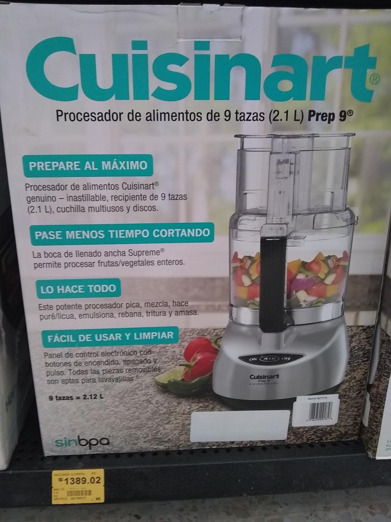 Superama: Procesador de alimentos Cuisinart en ÚLTIMA liquidación