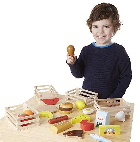 Amazon: Melissa & Doug Grupos de alimentos Didactico para niños.