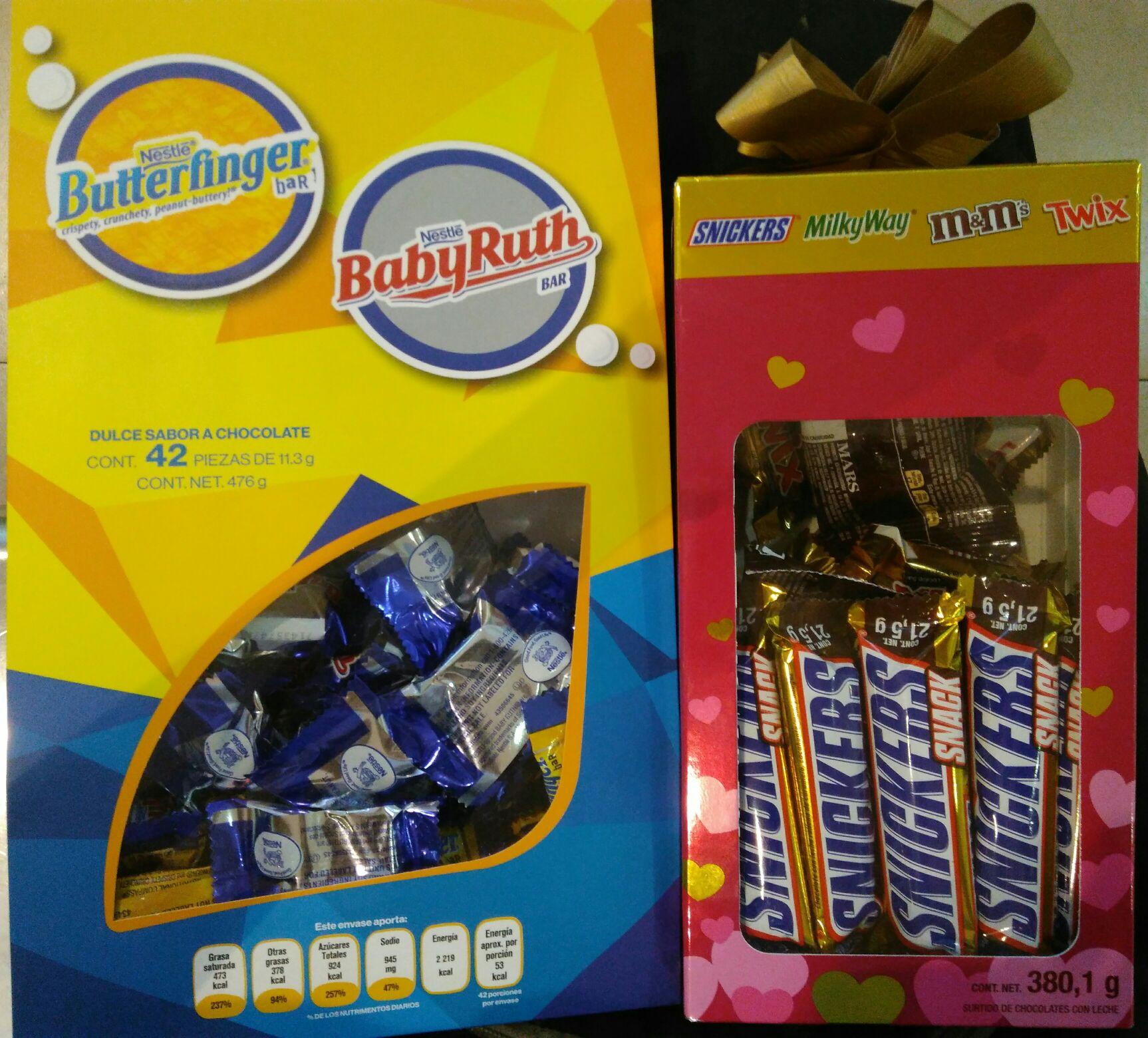 Sam's Club: Bolsa con mix de chocolates para este 14 de febrero.