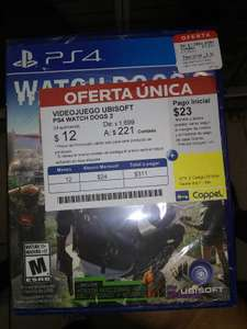 Coppel: Watchdogs 2 PS4