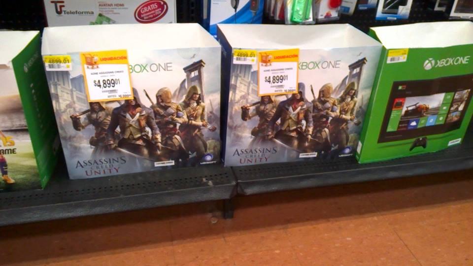 Walmart: Xbox One con juegos a $4,899