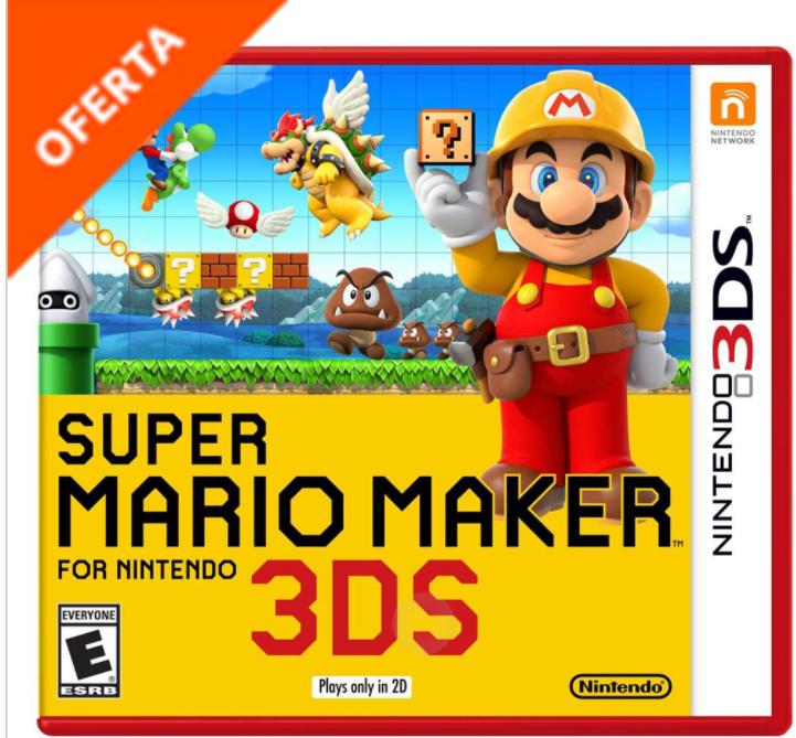 La Comer en tu Casa: Super Mario Maker 1611 NIntendo 3DS