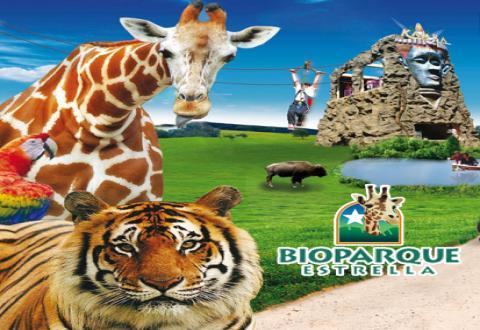 Pasaporte Safari en Bioparque. (Edo de Mex) de $179.00 en $20.00