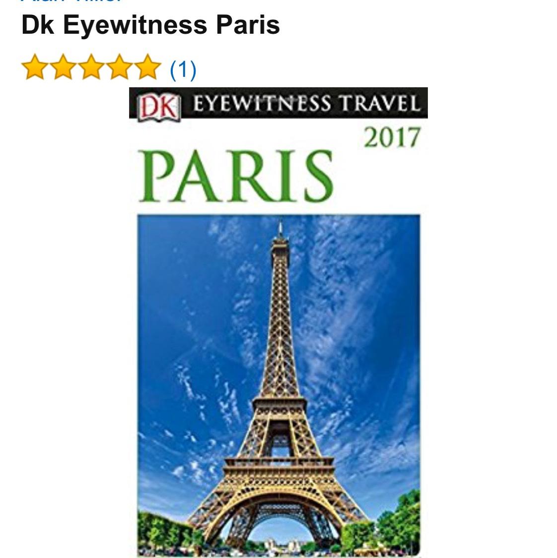 Amazon: Paris Travel Guide 2017 DK Eyewitness
