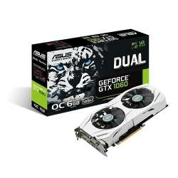 Cyberpuerta: Tarjeta de Video ASUS NVIDIA GeForce GTX 1060 Dual OC, 6GB 192-bit GDDR5, PCI Express 3.0