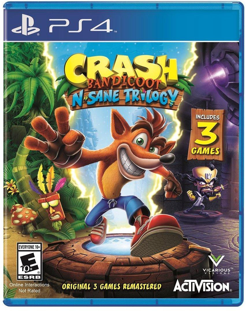 Amazon: Crash Bandicoot N Sane Trilogy para PS4