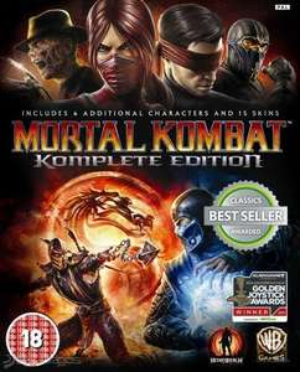 CDKeys: Mortal Kombat Komplete Edition PC