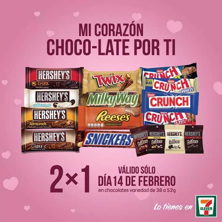 7 Eleven: Chocolates 2x1