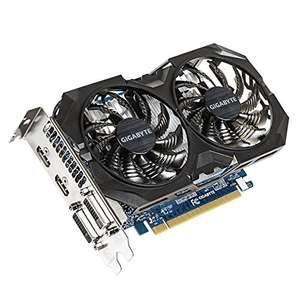 Amazon: GPU Mid Level gygabyte GV-N75TWF2OC-4GI  GTX750