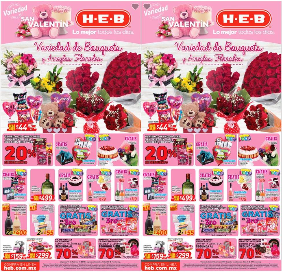 HEB: Combo locos San Valentín
