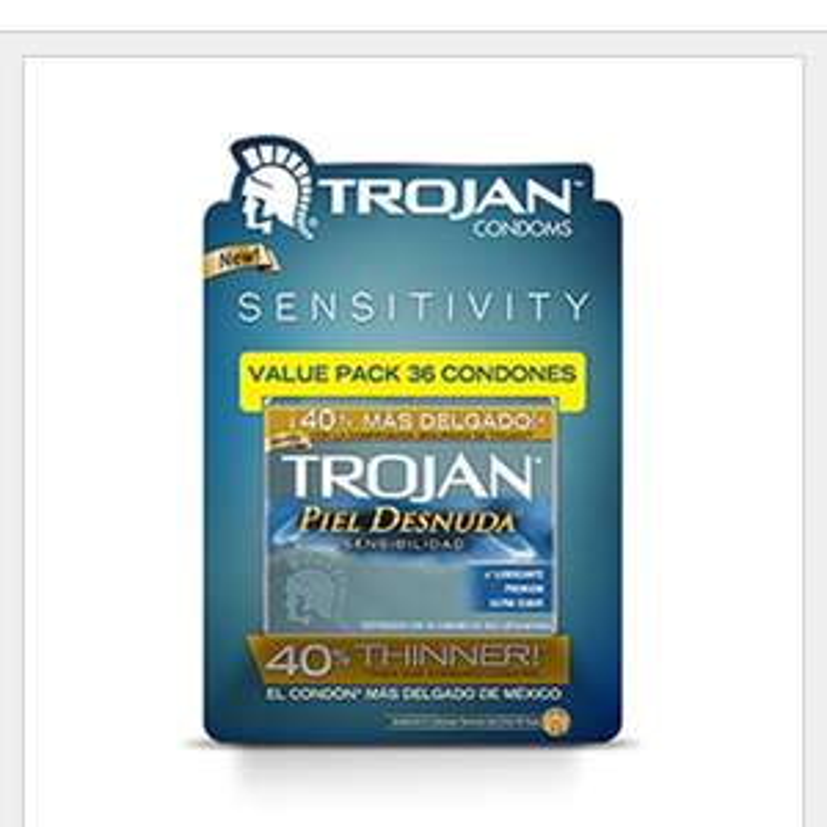 Costco: paquete con 36 condones Trojan Piel Desnuda