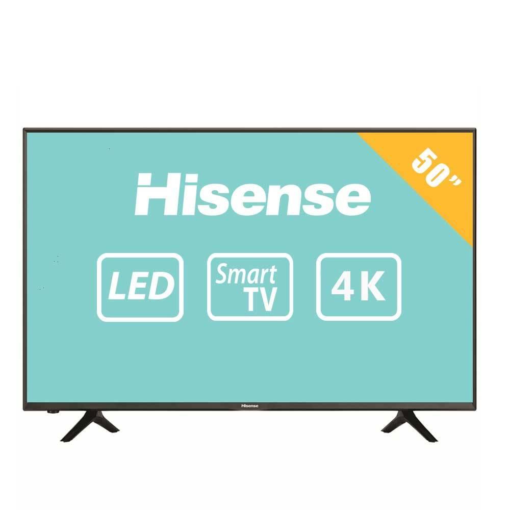 "Walmart: Pantalla Hisense 50"" 4K Ultra HD Smart TV LED 50H6D"