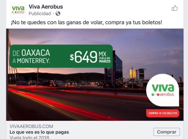 Vivaaerobus: Vuelos Oaxaca-Monterrey todo Marzo con súper descuento