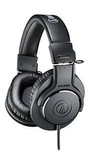 Amazon: Audio-Technica ATH-M20X Closed-back Headphones (Vendido por Tercero)