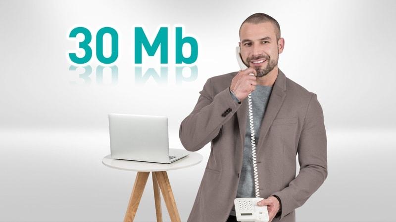 Izzi: Prueba 30Mb  por 6 meses