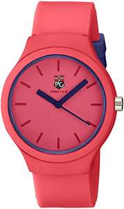 Amazon: Swiss Tag ST 5210 D Reloj Análogo, color Rosa PRIME, para un buen regalo.