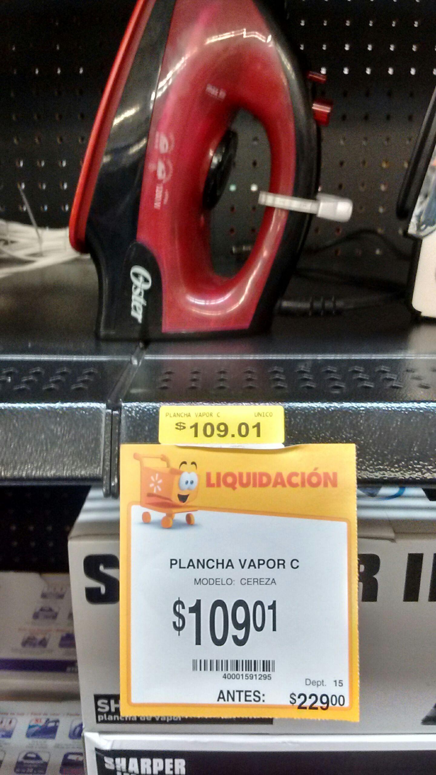 Walmart Ecatepec Centro: Plancha Oster y más
